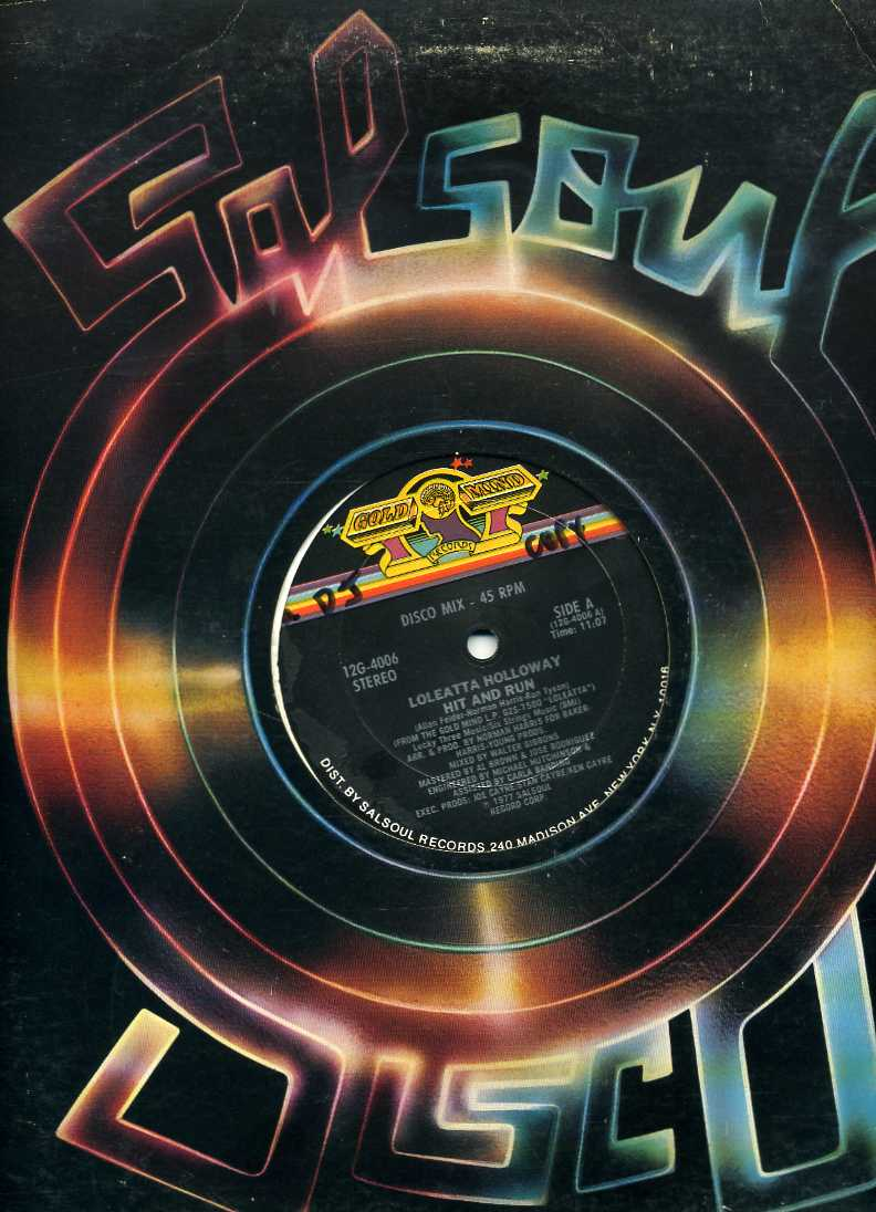 Salsoul Records 1970s Disco 12 Quot Singe Record Sleeve I