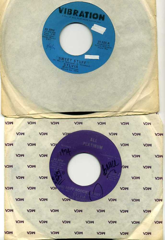 My Vinyl: Sylvia's