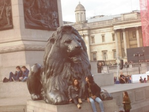 Trafalga Square Lion