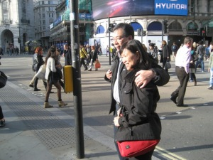 This couple traded photo shoots with us in Piccadilly Square!  Thanks!