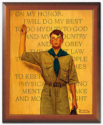 No Wonder The Boy Scouts of America's Ranks Recently Dropped, They Want To Admit Homosexual Males! (1/3)